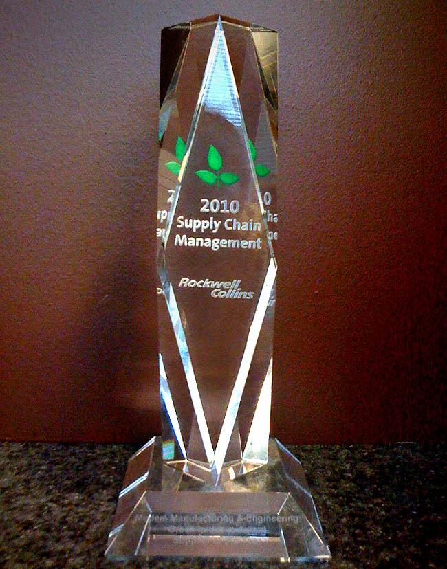 Rockwell Collings Green Initiative Award 2010